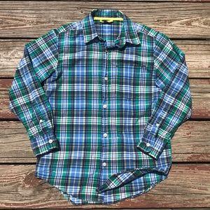 Gap Kids Plaid Button-up Shirt 10